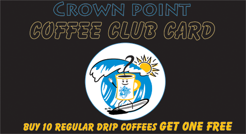 Front punch card
